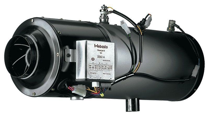 Автономный отопитель HL 90 D (дизель, 24 В). Графический каталог запчастей Webasto